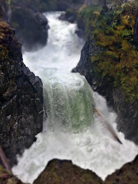 Miniature Little Qualicum Falls...