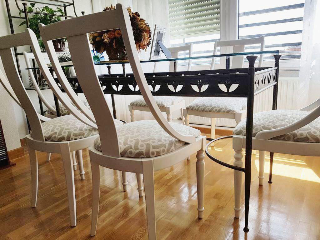 Isabel vintage - Pintar sillas de madera ...