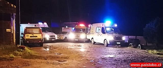 🚑 Hermanos resultan con graves quemaduras en Bahía Mansa