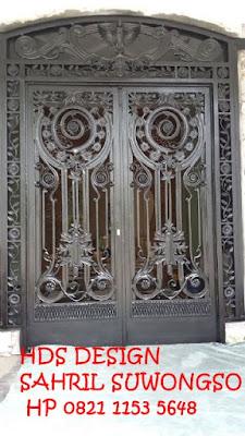 pintu klasik untuk rumah mewah