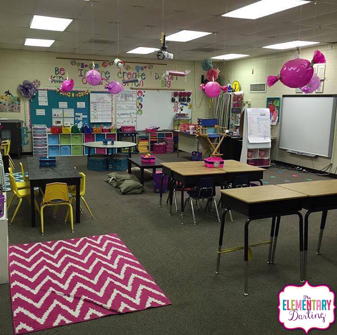 Classroom Arrangement Ideas For Elementary ~ The elementary darling flexible seating what i have learned