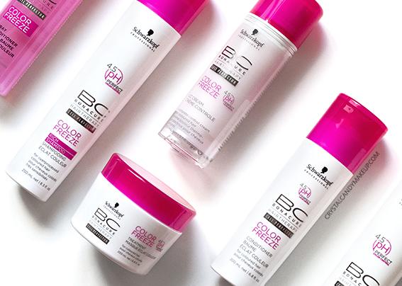 Schwarzkopf BC Color Freeze Hair Care Range Review Ingredients