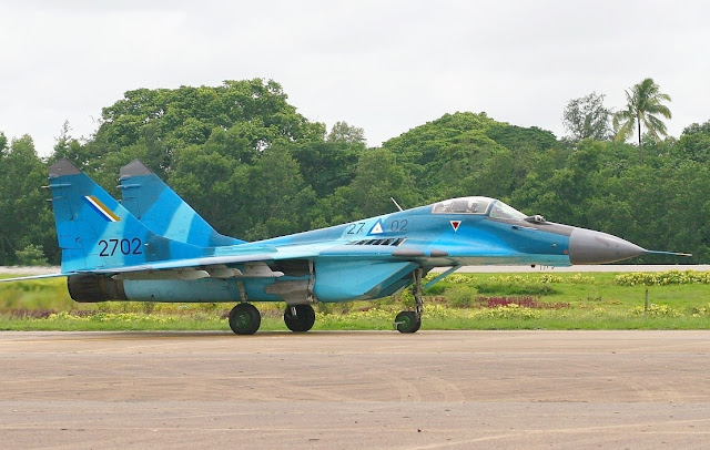 Image Attribute: Myanmar Air Force MiG-29 MRD / Source : Wikimedia Commons