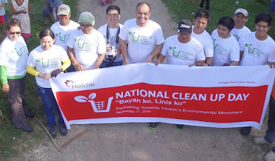 Holcim National Clean Up Day