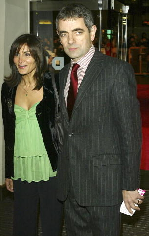 mr bean divorce wife