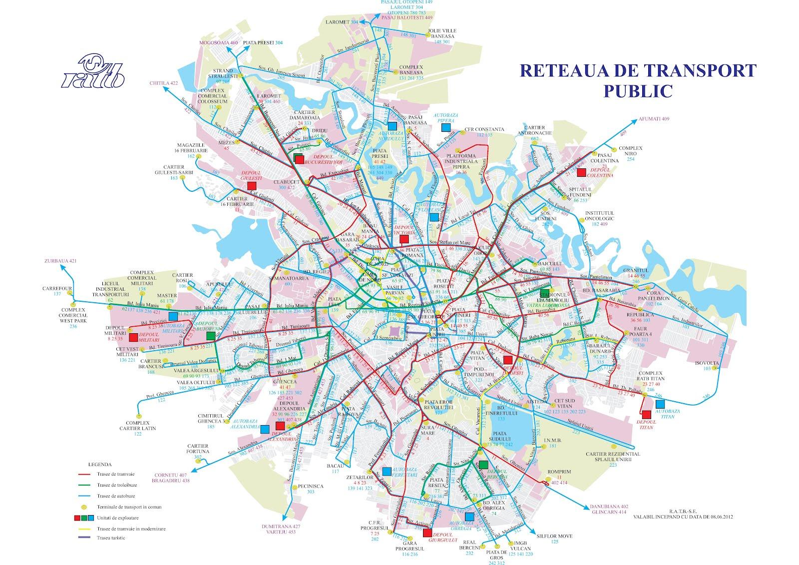 Romania Live Harta Ratb Bucuresti