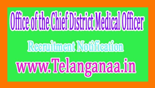 Office of the Chief District Medical Officer, KandhamalGovernment of Odisha Recruitment Notification 2017