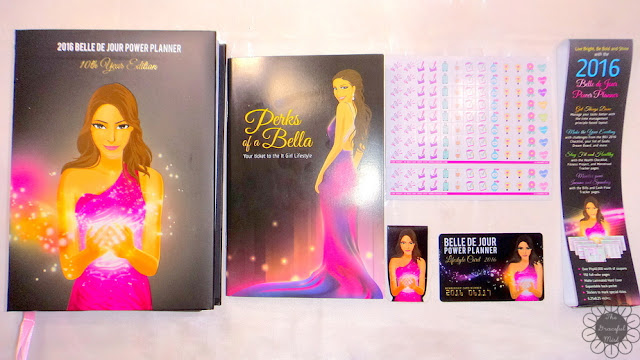 The Graceful Mist: 2016 Belle De Jour Power Planner, Booklet, Stickers, Bookmark, and Lifestyle Card Picture