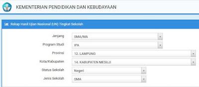 Cara Melihat Mengecek Hasil UNBK SMP MTS 2019 Secara Online.