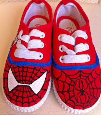 Spiderman Sneakers