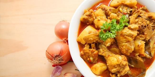 Resep Membuat Lontong Kari Ayam Lebaran