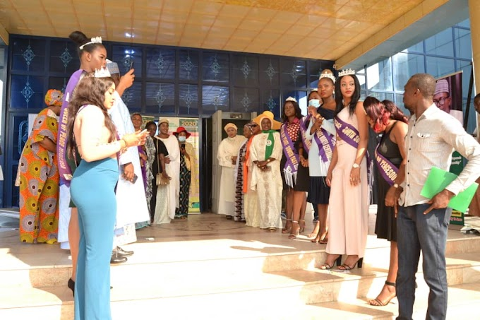 Winners of Queen Of Peace Nigeria Join FCT Minister In Abuja NITP Envoy Extraordinary Award