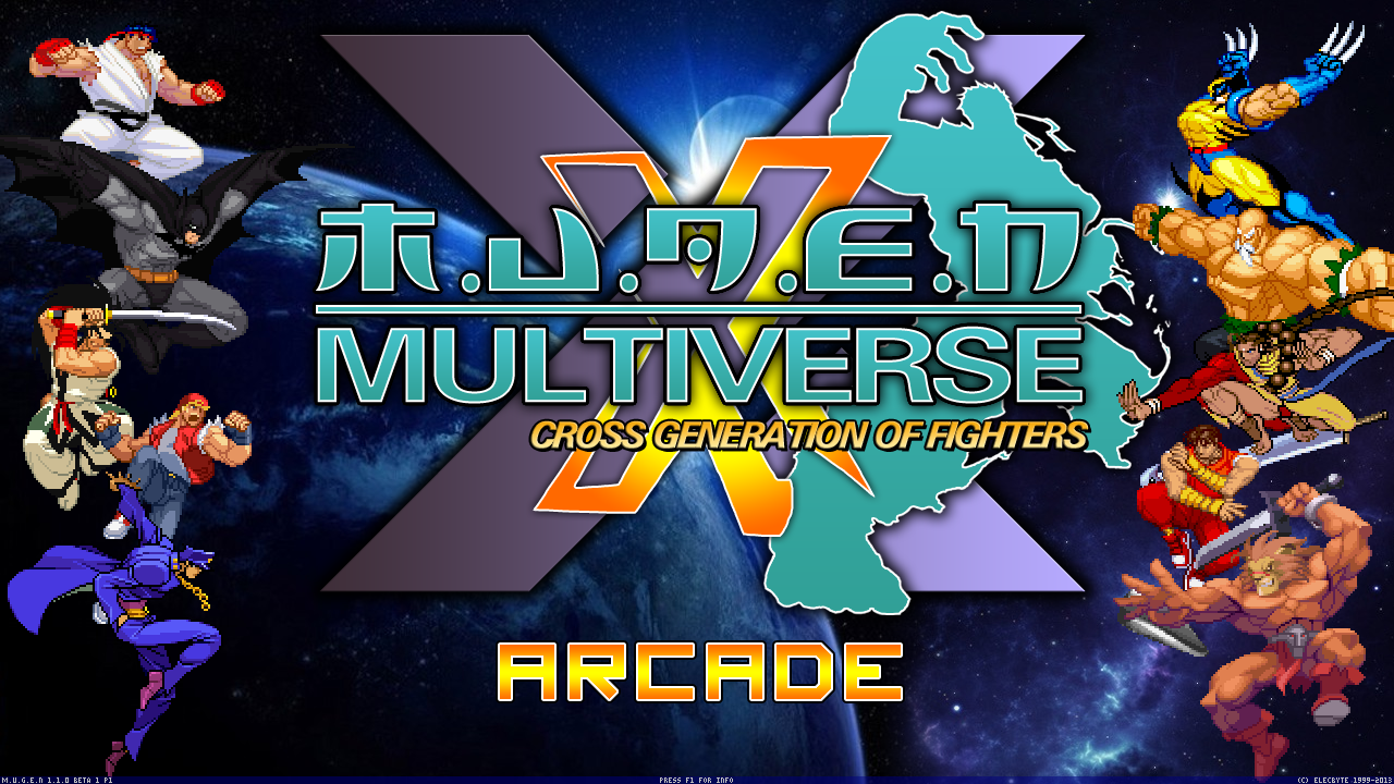 mugen multiverse cross generation of fighters time to
