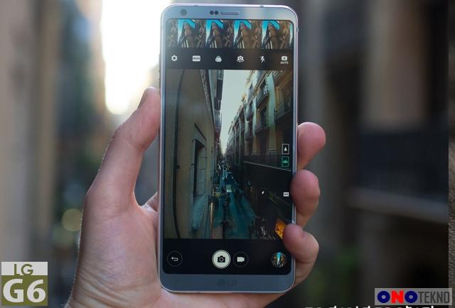 LG G6 didukung layar dan kamera yang memukau