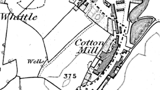 Birch Mill, OS map, 1848.