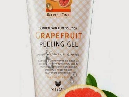 [Review] Mizon - Grape Fruit Peeling Gel