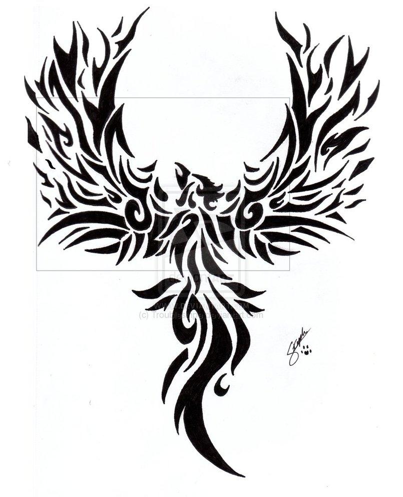 Tattoo Designs Phoenix 02
