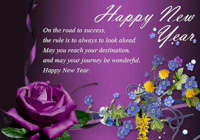 new year greetings card message