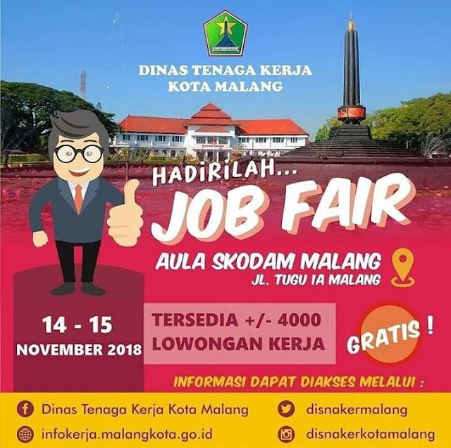 Job Fair DINASKER Kota Malang (GRATIS)