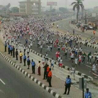 68-year-old Woman Completes #LagosMarathon