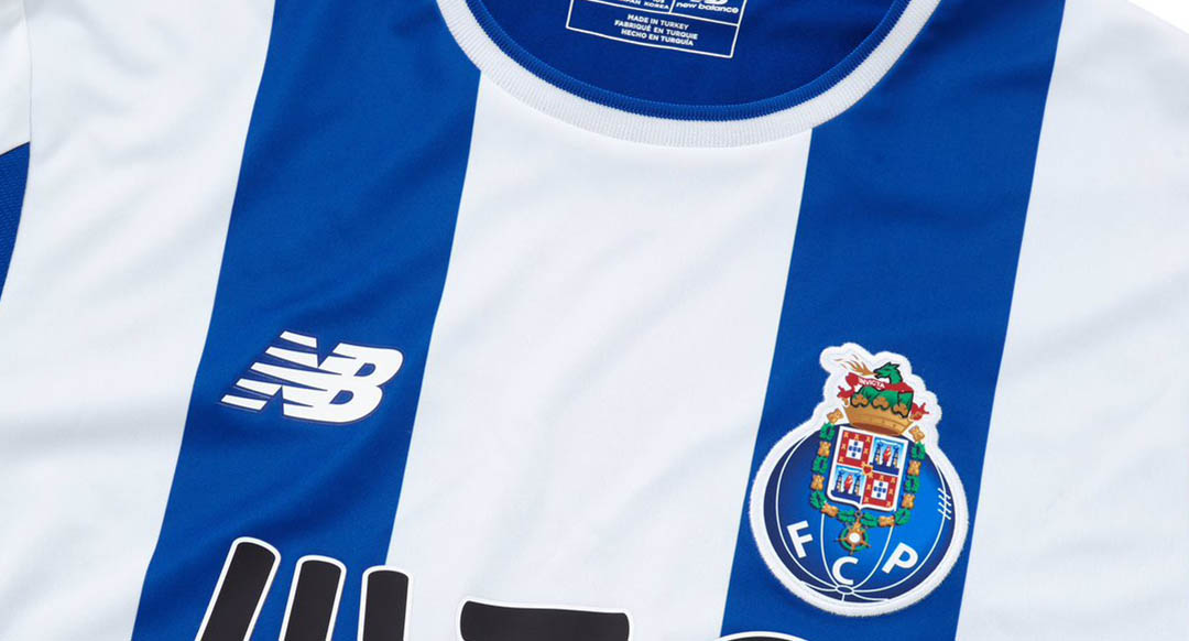 The new Porto 17-18 kit sees a return of the iconic Oporto Blue and white  stripes. 2e5175c13