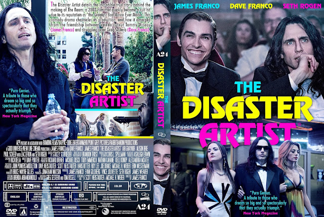 The Disaster Artist DVD Cover