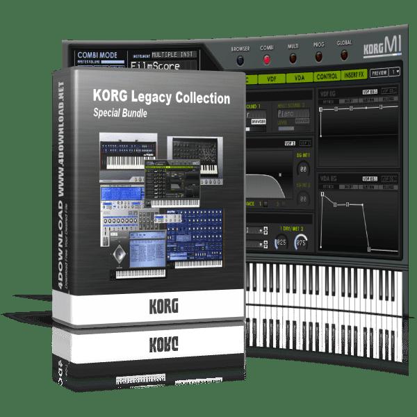 KORG Legacy Collection Special Bundle v09.2011