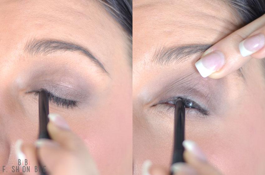 Make Up Factory Academy Lidstrich & Wimpern Liner ziehen