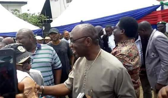 Photos Of Imo Deputy Governor, Madumere Rejoicing After Winning Okorocha Yesterday