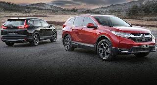 Ngoại thất Honda Crv 7 chỗ 2018