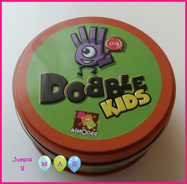 Dobble kids, juegos de cartas, juegos de mesa, juegos para niños