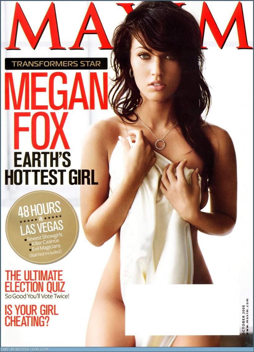 Not so. Megan fox maxim useful