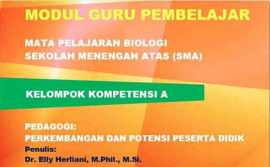 Download Modul Guru Pembelajar Biologi SMA