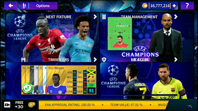 Dream League Soccer 2019 UEFA Champions League Mod 2019