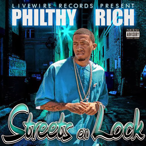 Philthy Rich - Streets On Lock EP Cover