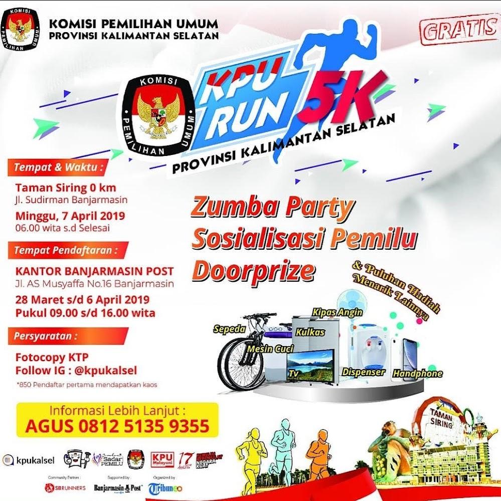 KPU Run - Prov. Kalimantan Selatan • 2019