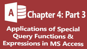 special ms access query built in functions and their practical application