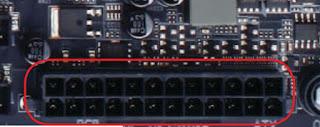 Bagian Bagian Komponen Motherboard dan Penjelasannya