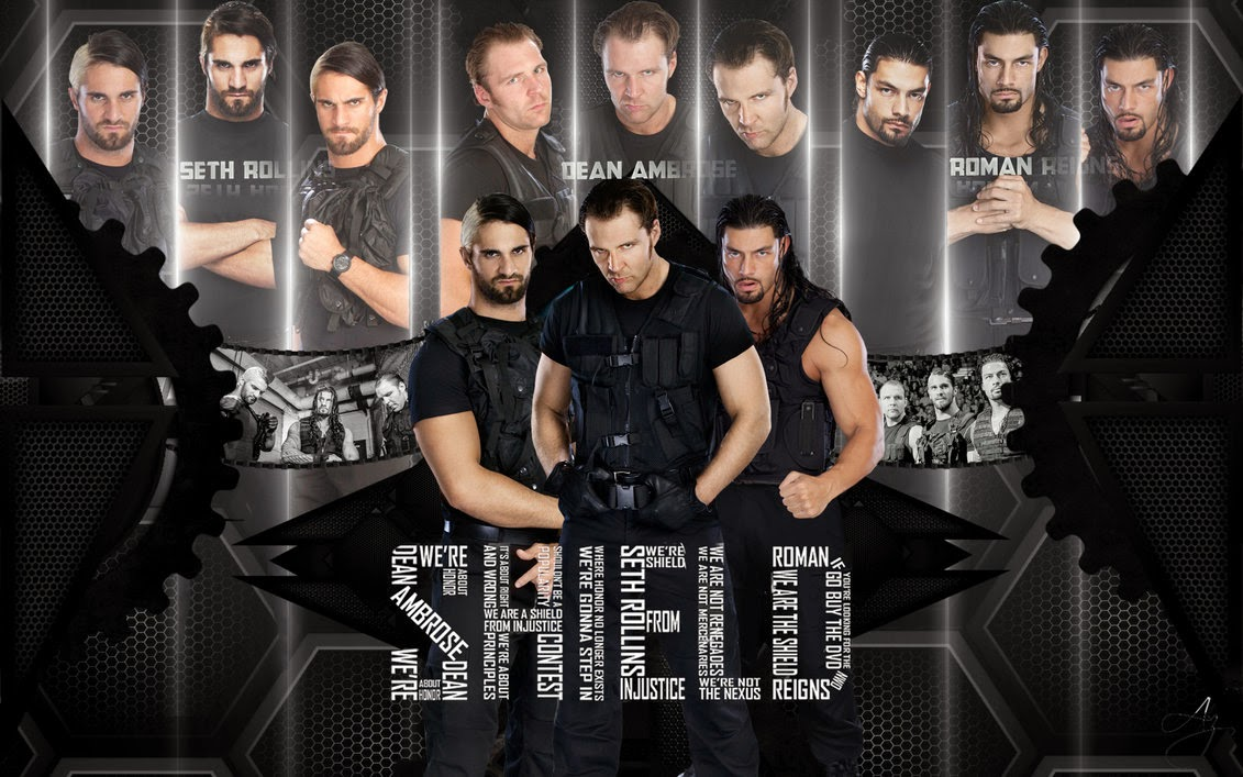 Wwe the shield hd wallpapers wwe wrestling wallpapers - Download pictures of the shield wwe ...