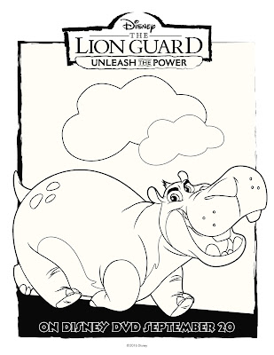The Lion Guard Coloring Sheet Beshte