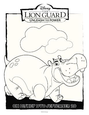 The Lion Guard Coloring Sheet Beshte