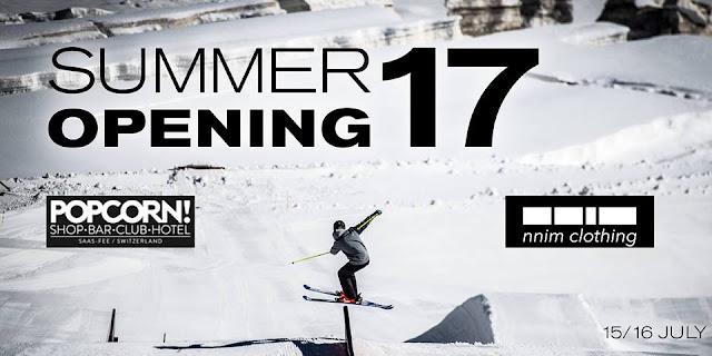 Saas-Fee Ski Season Opening Weekend 2017
