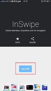 Membuat Foto Swipe Instagram Keren