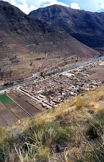 village moderne de Pisac
