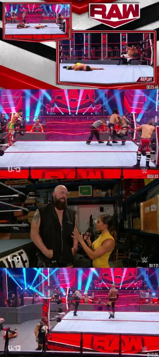 WWE Monday Night Raw 29 June 2020 HDTV 720p 480p 500MB