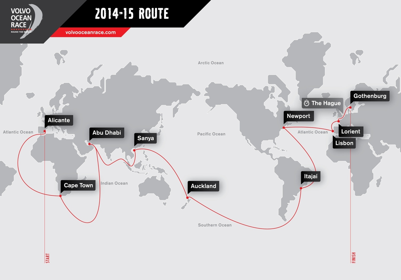 volvo ocean race karta ReadyAboutYachting: Dutch Pitstop For Volvo Ocean Race Fleet volvo ocean race karta