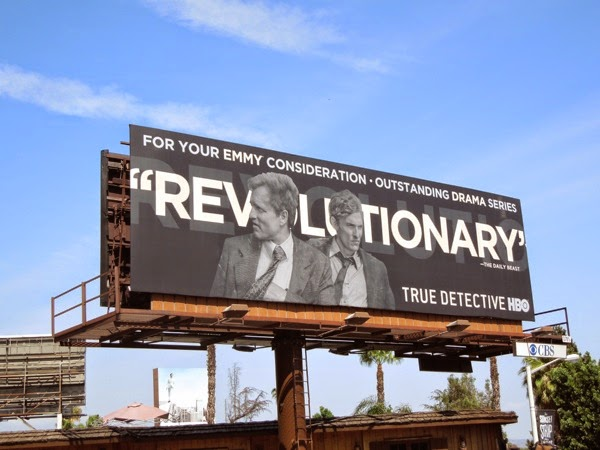 True Detective Revolutionary Emmy 2014 billboard