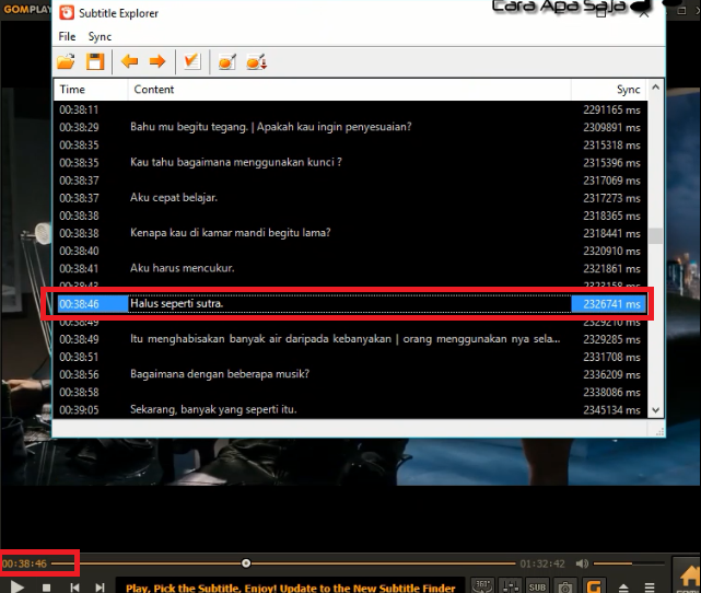 Cara Menggabungkan Dan Memasukan Subtitle Ke Film Secara Permanen Dengan GOM Player - Wong Indonesia
