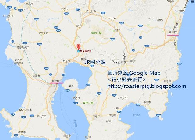 鹿兒島機場地理位置+地圖