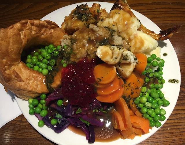 Toby Carvery Regular carver meal